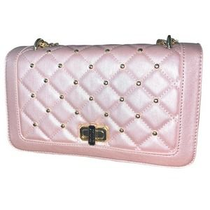 BADGLEY MISCHKA Pink Quilted Bag *NWT*